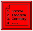 Theorem List Icon